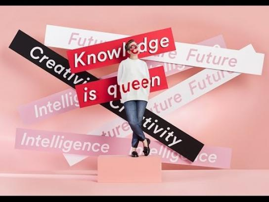 Monki Digital Ad - Knowledge is queen