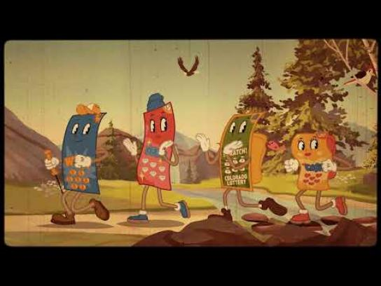 Colorado Lottery Film Ad - Take a Hike To Your Favorite Lottery Retailer!