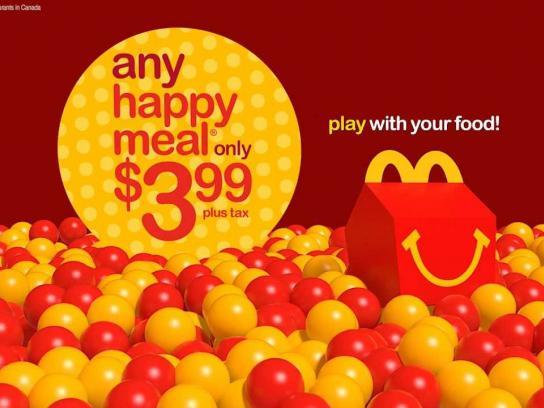 McDonald's Digital Ad -  Ball Pit