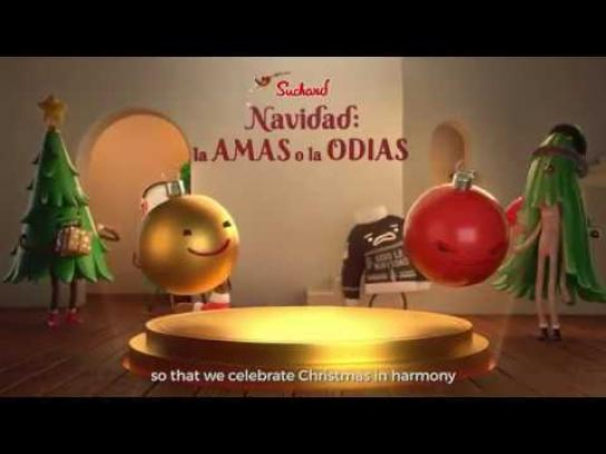 Suchard Digital Ad - The Official Christmas Treat