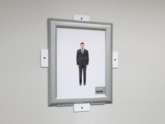 Valin Custom Tailoring Outdoor Ad -  Whatever Your Shape