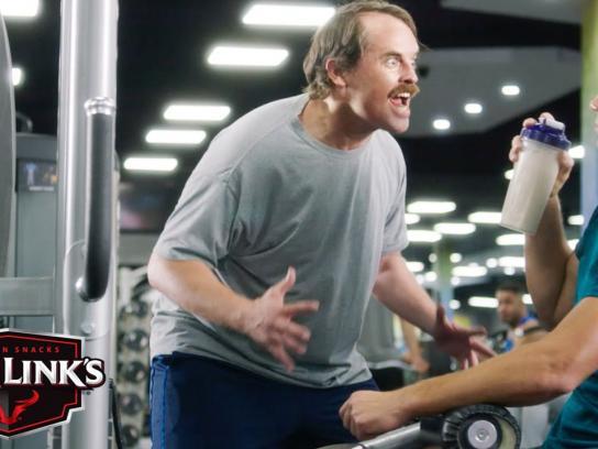 Jack Link's Film Ad - Gym beast