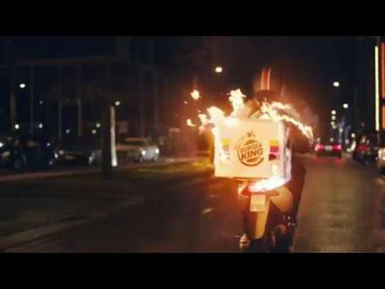 Burger King Film Ad - Delivery Service