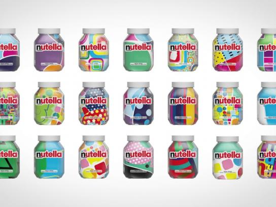 Nutella Design Ad - Unica