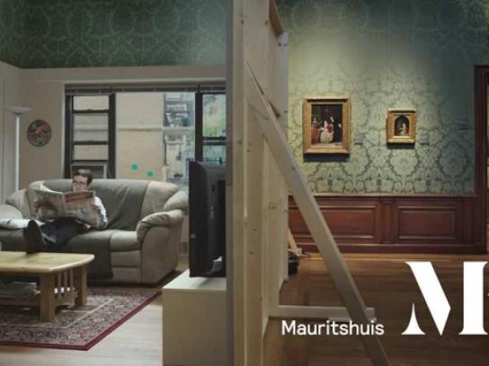 Mauritshuis Museum Film Ad -  The real Girl with a Pearl Earring