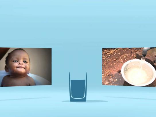 Unicef Digital Ad -  H2O challenge