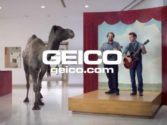 Geico Film Ad -  Camels