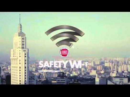 Fiat Ambient Ad -  Safety Wi Fi