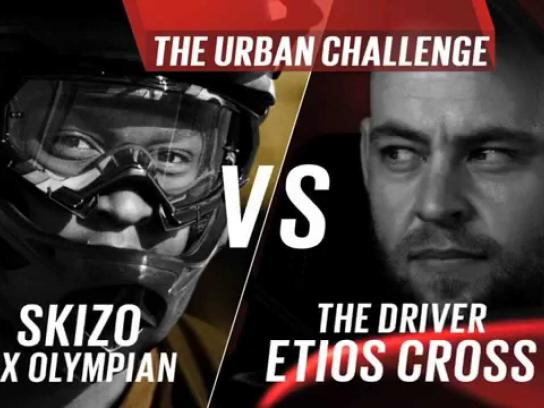 Toyota Film Ad -  Urban challenge