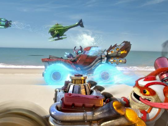 Skylanders Digital Ad -  Large and supercharged