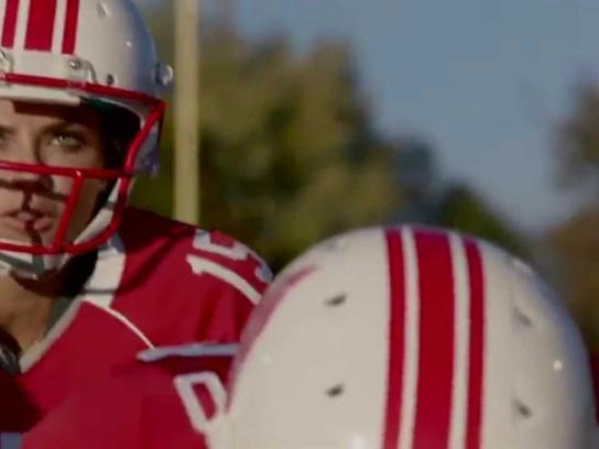 Victoria's Secret Film Ad -  The Angels play football