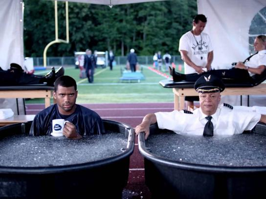 Alaska Airlines Film Ad -  Training Camp with Russell Wilson