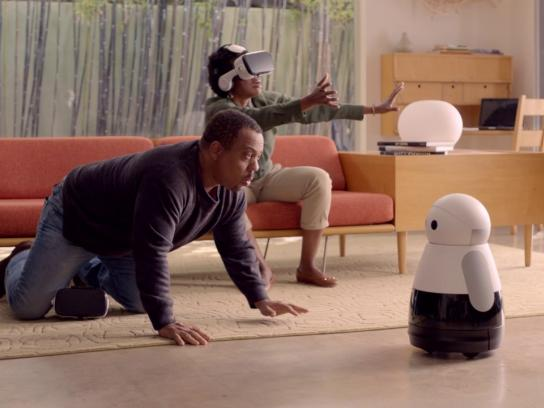 Kuri Film Ad -  Virtual reality
