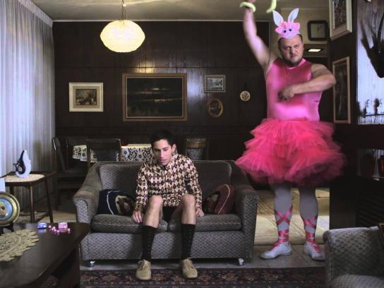 Bazooka Digital Ad -  Ballerina