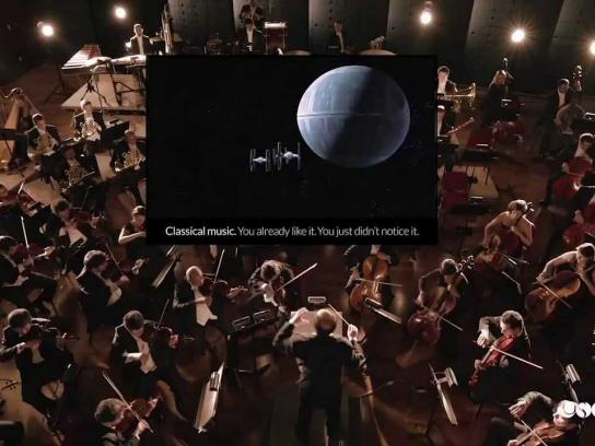 Brazilian Symphony Orchestra Digital Ad -  Classicals behind the classics