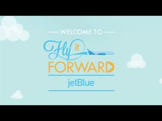 JetBlue Digital Ad -  Fly it forward