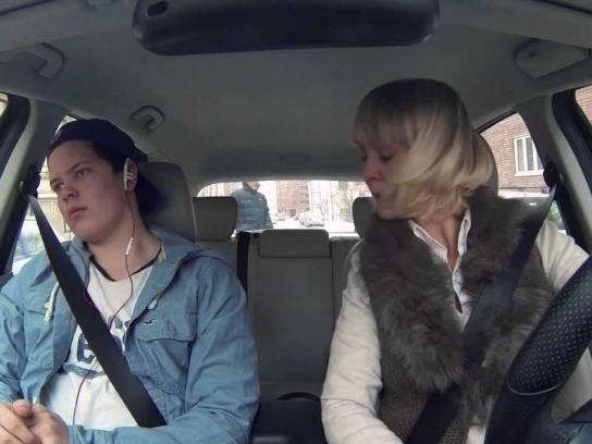 Norwegian Council for Road Safety Film Ad -  Mom