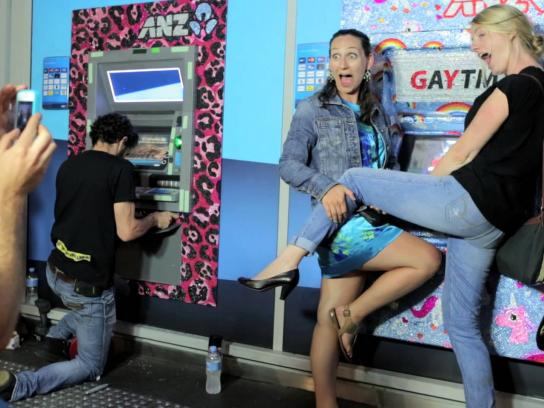 ANZ Ambient Ad -  GAYTMs