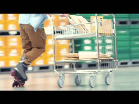 McDonald's Film Ad -  Post Boy