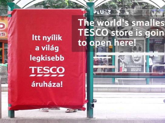 Tesco Outdoor Ad -  The world's smallest Tesco