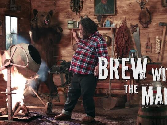 Brewie Film Ad - Brew with the MAN