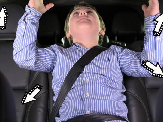 Volvo Film Ad -  Backseat Drivers