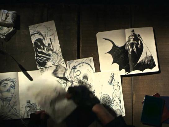 Moleskine Digital Ad -  Batman Limited Edition