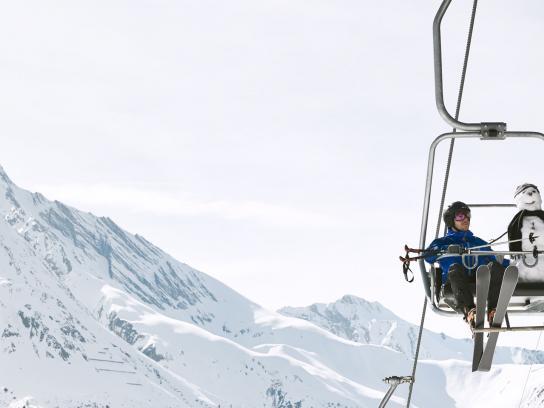 Zurich Film Ad -  Save the snowmen