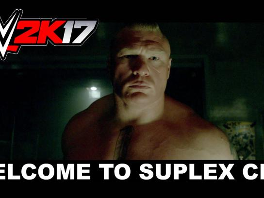 2K Sports Film Ad - Welcome to Suplex city