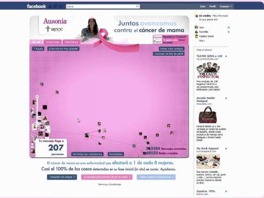 Ausonia Digital Ad -  Network against Breast Cancer