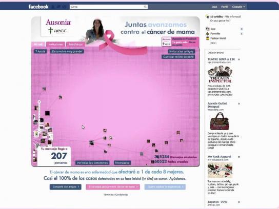 Ausonia Digital Ad -  Network against Breast Cancer