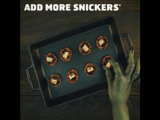 Snickers Film Ad - Halloween Phyllo Bites