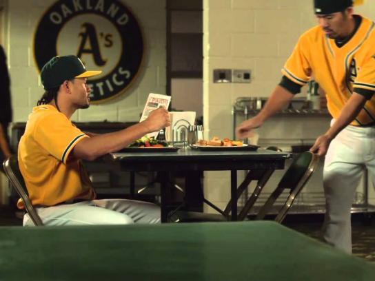 Oakland A's Film Ad -  Eat, Sleep, Breathe