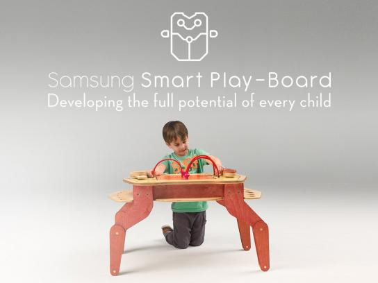 Samsung Digital Ad -  Smart playboard
