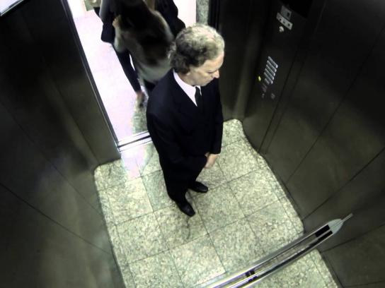 Space Channel Ambient Ad -  Frightening October, Elevator
