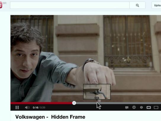 Volkswagen Digital Ad -  Hidden frame