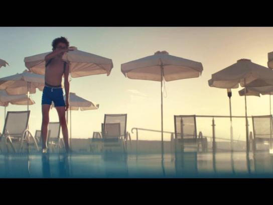 Thomas Cook Film Ad -  Pool