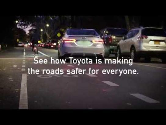 Toyota Film Ad - 2018 Camry Safer Bike