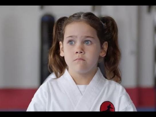 AAMI Film Ad - Karate Camilla