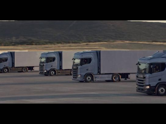 Scania Film Ad - Clock