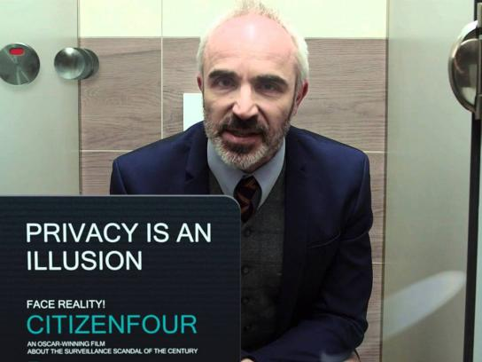 Citizenfour Ambient Ad - The power of transparency