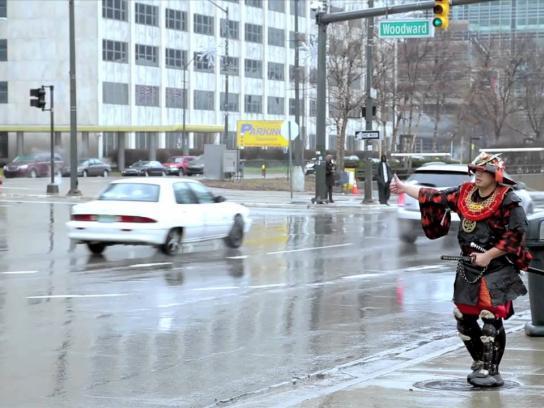 Detroit Institute of Arts Film Ad -  Samurai - Beyond the Sword, 2