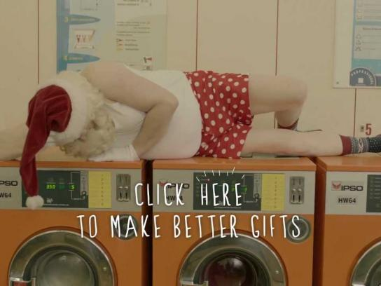 Petits Riens Film Ad -  Santa Surprises Brussels