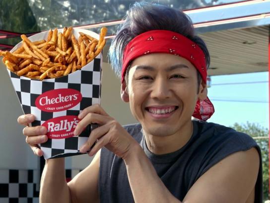 Checkers & Rally's Film Ad - Kobayashi $1 Fries