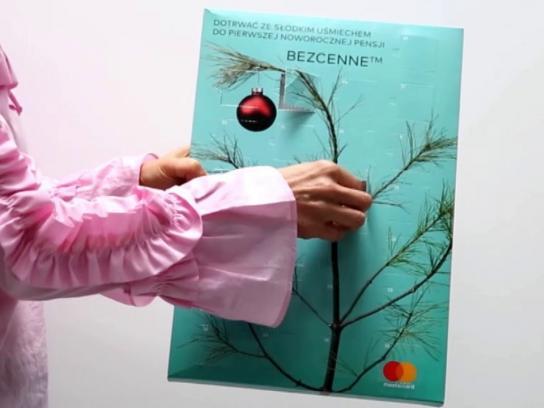 MasterCard Direct Ad - Reverse Advent Calendar