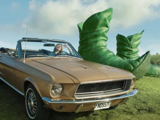 Green Giant Film Ad - What did he learn
