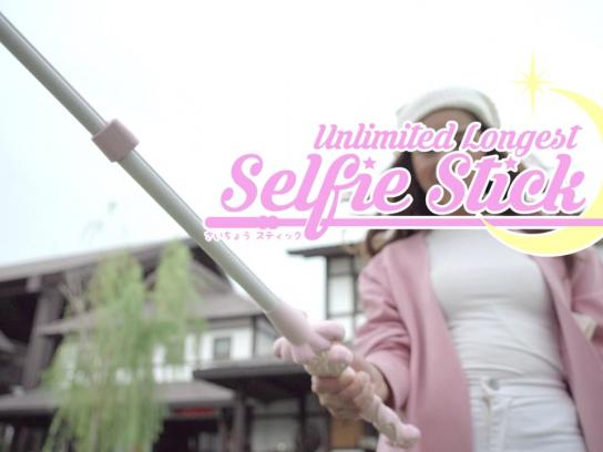 Garnier Film Ad -  Unlimited Longest Selfie Stick