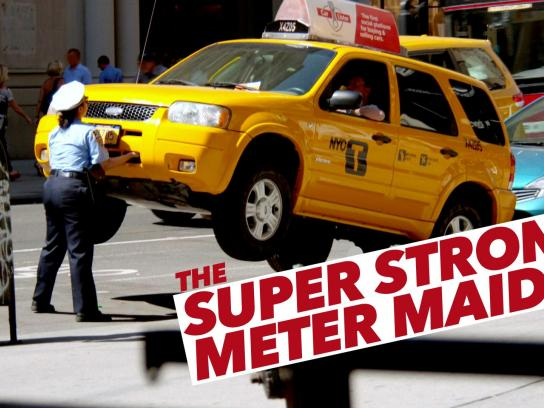 Carlister Digital Ad -  The super strong meter maid