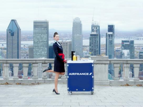 Air France Film Ad - Gastronomy lands on Earth