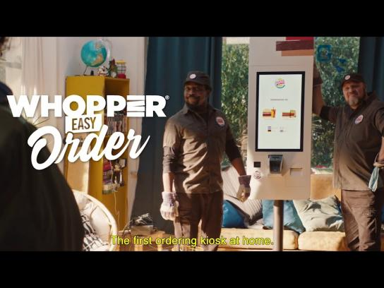 Burger King Film Ad - Whopper Easy Order